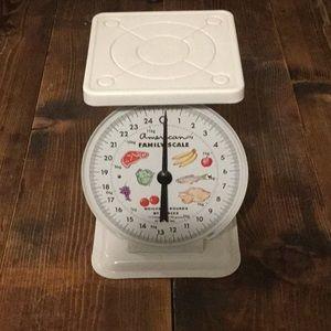 Farmhouse kitchen scale